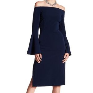 Keepsake the label Harmony Bell Sleeve Dress